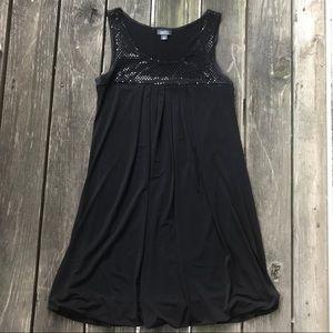 Dress Barn Bubble Hem Black Dress